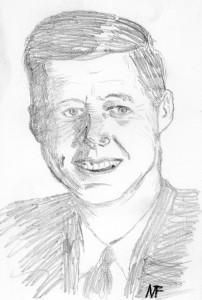 Erste Portrait Zeichnung