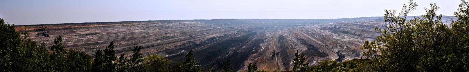 Braunkohle Tagebau Hambach