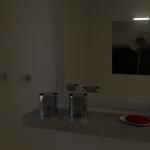 3D Badezimmer - 2. Test Render