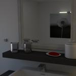 3D Badezimmer - 4. Test Render