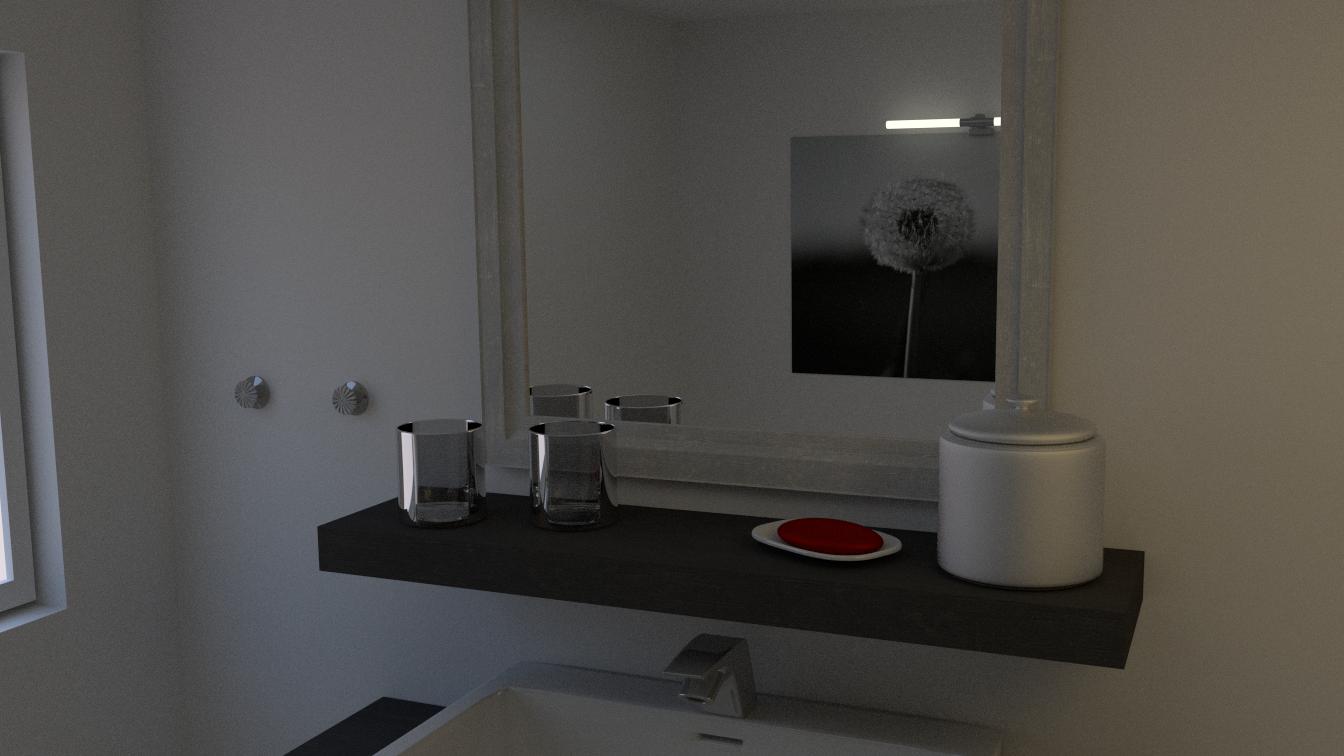 Schön 3D Badezimmer   4. Test Render
