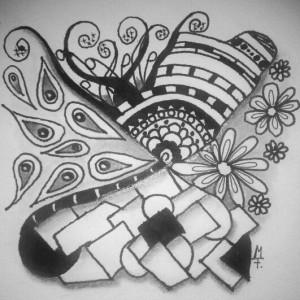 Zentangle / Doodle #07