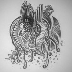 Zentangle / Doodle #08