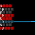 09 Muster Reihe 3 - 2tePerle