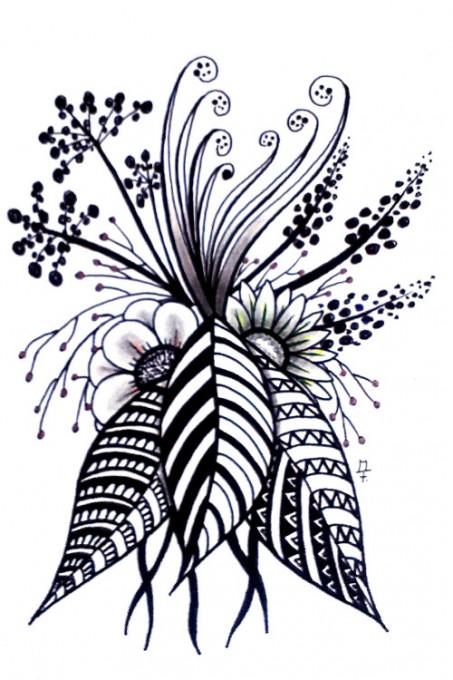 Zentangle / Doodle #17