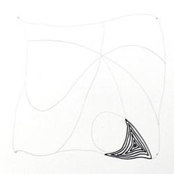 Doodle-Zentangle Anleitung - 04