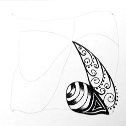 Doodle-Zentangle Anleitung - 06