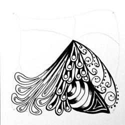 Doodle-Zentangle Anleitung - 08
