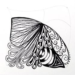 Doodle-Zentangle Anleitung - 09
