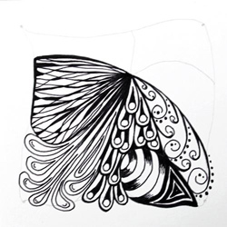 Doodle-Zentangle Anleitung - 10