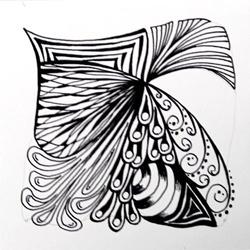 Doodle-Zentangle Anleitung - 11