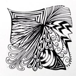 Doodle-Zentangle Anleitung - 12