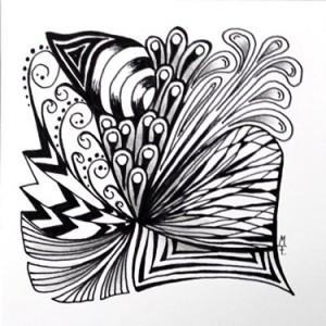 Doodle-Zentangle Anleitung - 13