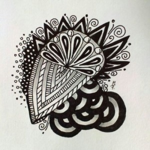 Zentangle / Doodle #12