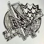 Zentangle / Doodle #14