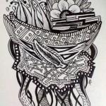 Zentangle / Doodle #16