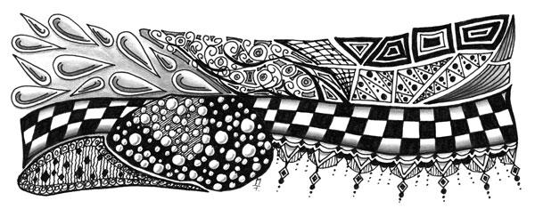 Doodle / Zentangle #18