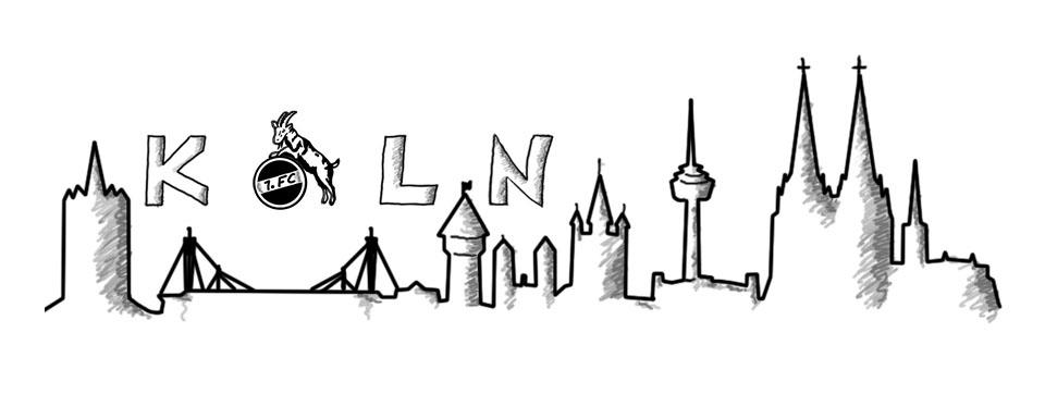 Noch eine Version der Kölner Skyline