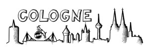 Skyline Cologne with Hennes
