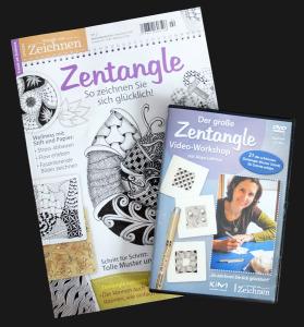 Zentangle Verlosung Zeitschrift und DVD