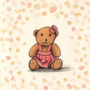 Teddy-Mädchen
