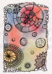 Aquarell Doodle