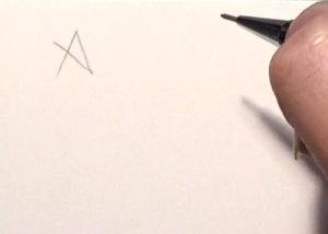 Pentagramm Schritt 2