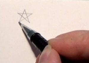 Pentagramm Schritt 4