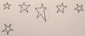 Vom Pentagramm zum Stern