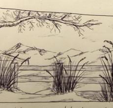 Kugelschreiber Skizzen