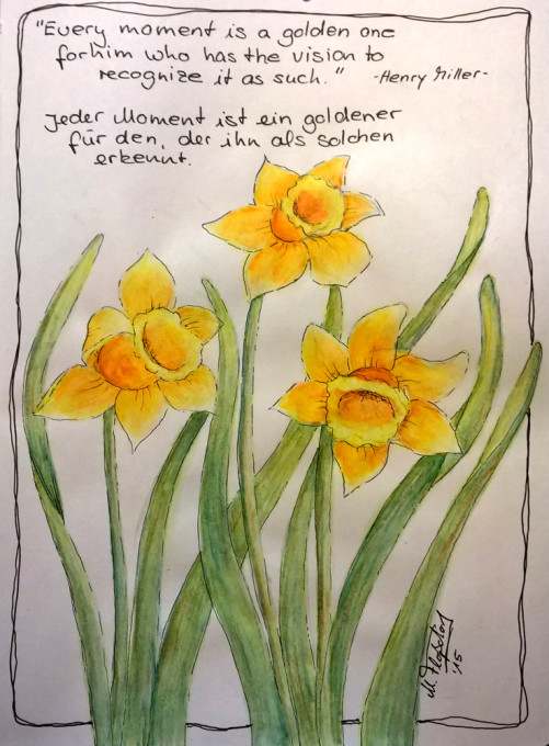Goldener-Moment - Narzissen