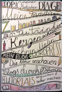 TOP10 meiner liebsten Dinge - Skizzenbuch