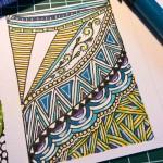 Kakao Karte Serie Musterzeichnung 3