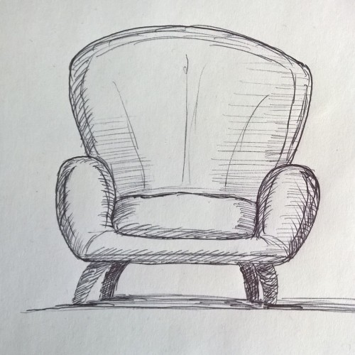 Sessel Zeichnen Sketch Sketch Afdu