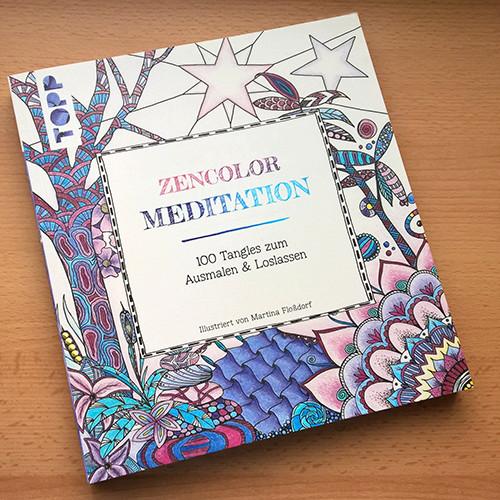 "Cover ""Zencolor - Meditation"""