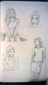 Figuren Skizzen
