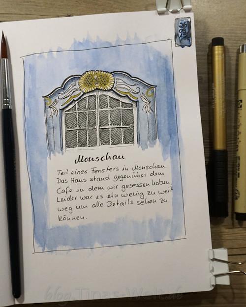 Monschau: Fenster - Tinas-Welt