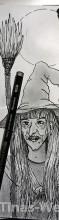 Inktober: Meine Tusche Hexe