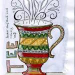 Skizzenbuch: Tee Tasse