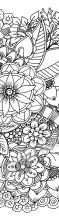 Neue Newsletter-Aktion – Blumen Doodle