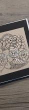 Muster Cover für mein DIY Sketchbook