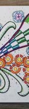 Zendoodle – Bunte Musterzeichnung