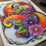 Muster zeichnen - Das fertige Bild