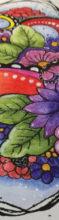 Blumenmuster mit der Bambusfeder + Videos