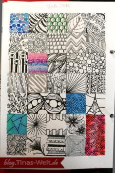 Kalender Doodles Juli