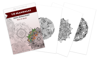 E-Book: 10 Mandalas zum Ausmalen