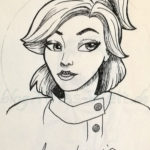 Inktober Anastasia