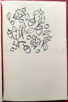 Inktober 2016 Einfache Herbsticons