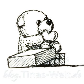 Inktober 2016 - Geschenke Bär 1