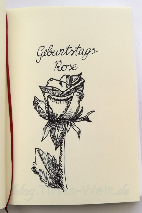 Inktober 2016 - Rose
